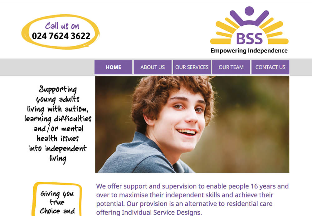 A responsive web design for Barcol Solutions in Coventry