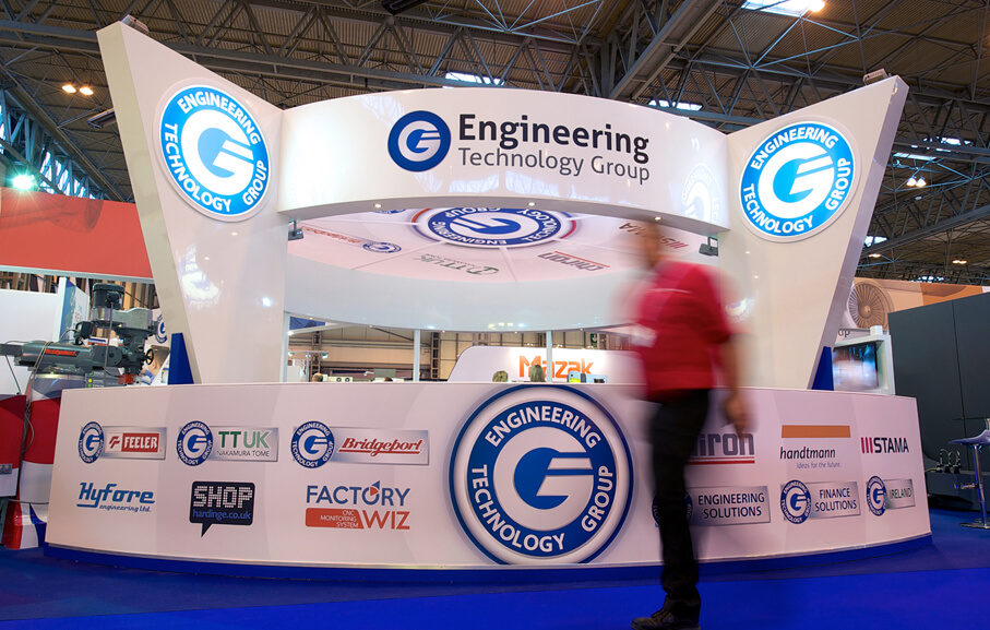ETG MACH Exhibition Stand Graphics