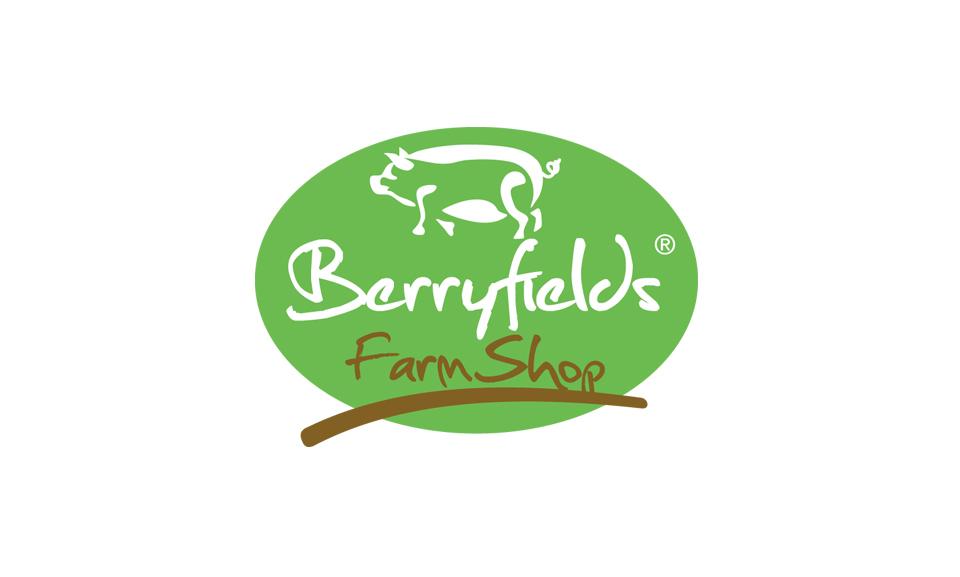 Berryfields Farm Shop Logo design