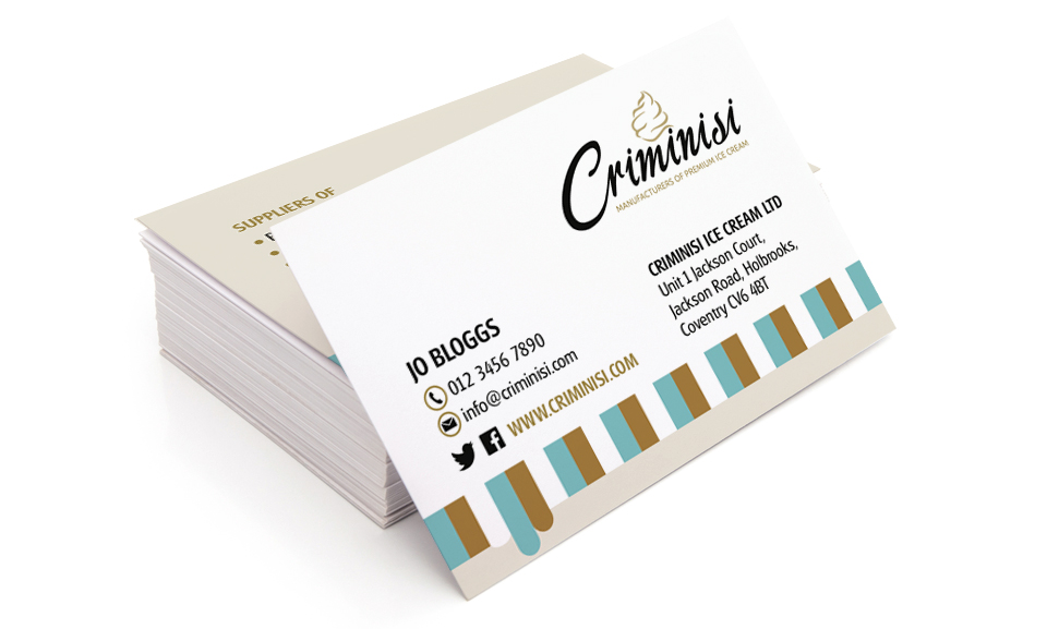 Criminisi Business Cards