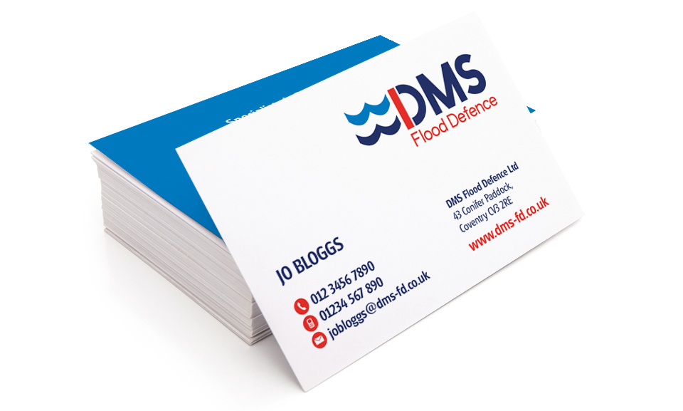 DMS Flood Business Cards
