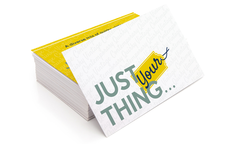Just Your Thing Business Cards