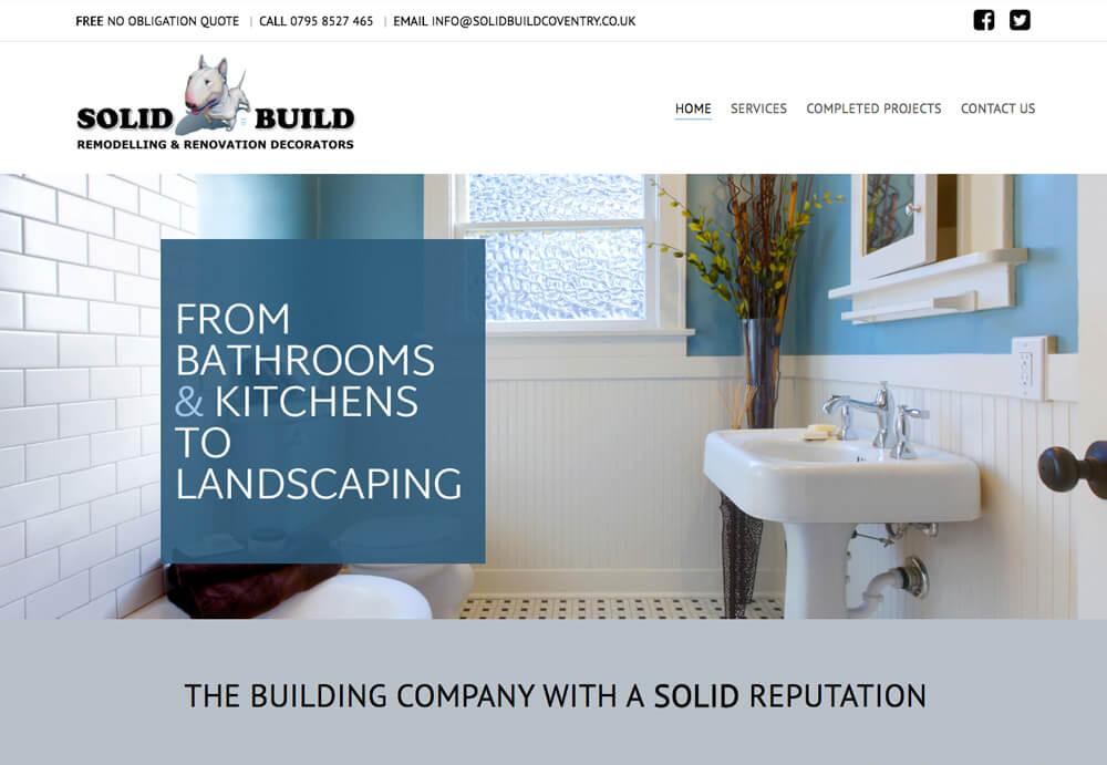 Solid Build Website
