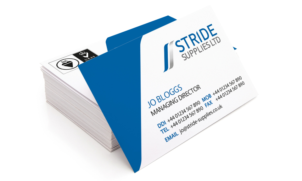 Stride Supplies Business Cards
