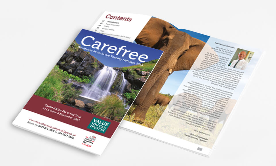 The Camping & Caravanning Club Carefree 2013 South Africa Brochure