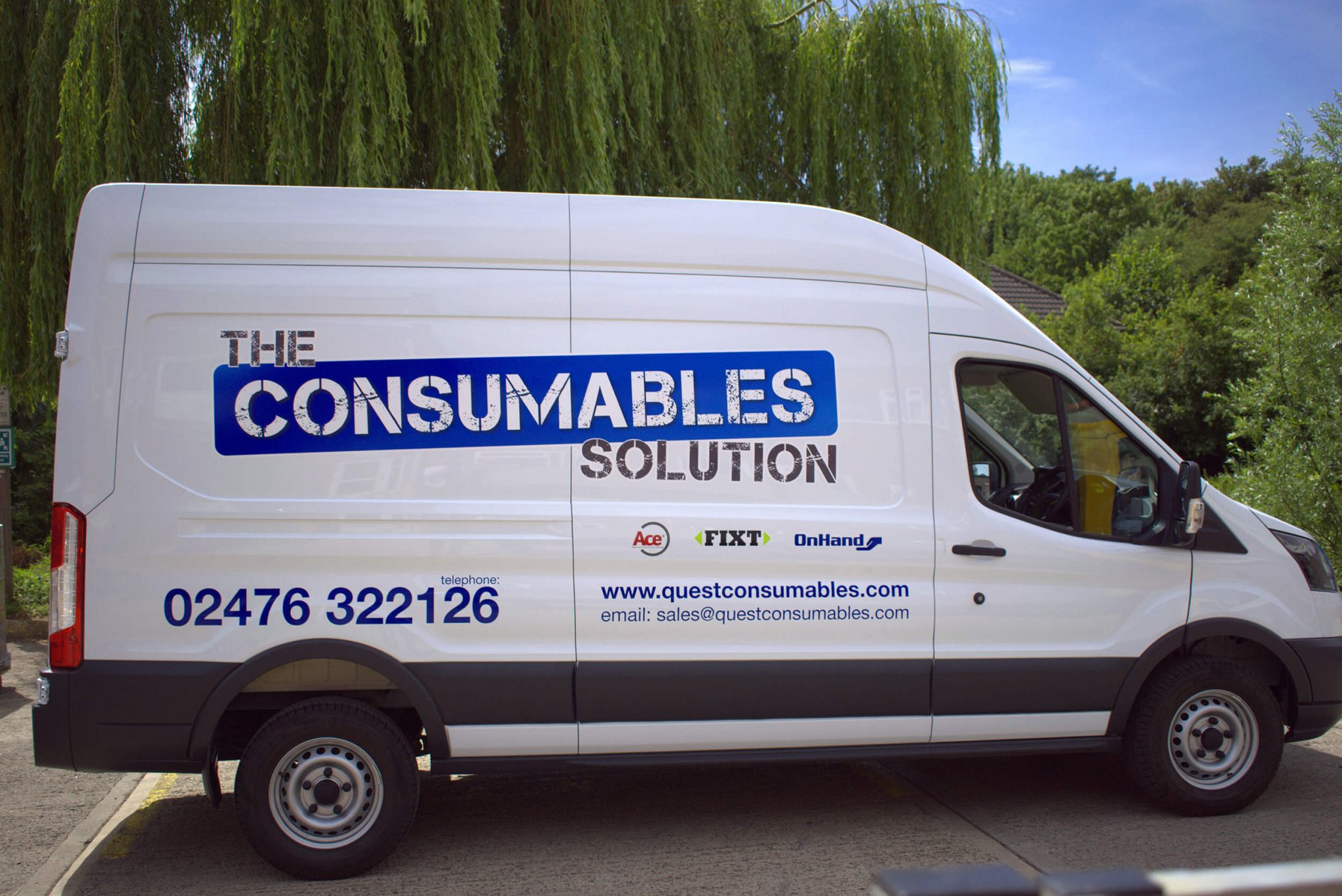 The Consumables Solution Van Graphics Drivers Side