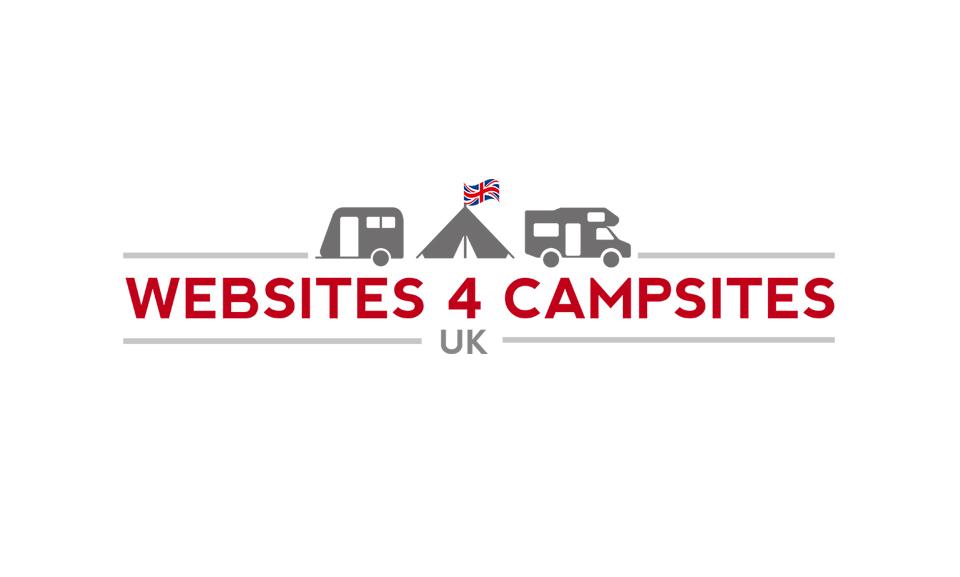 Logo design coventry for Websites 4 Campsites UK Logo