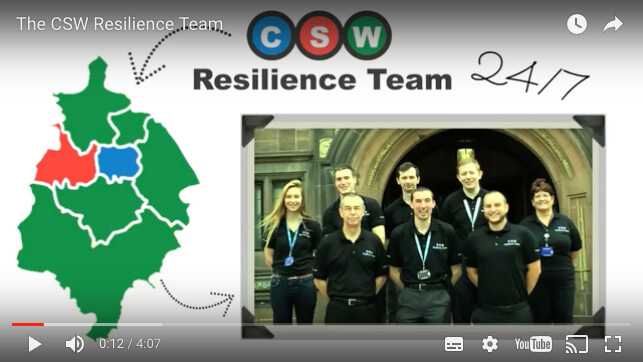 Core Design Communications Ltd Animated Video for CSW Resilience Team