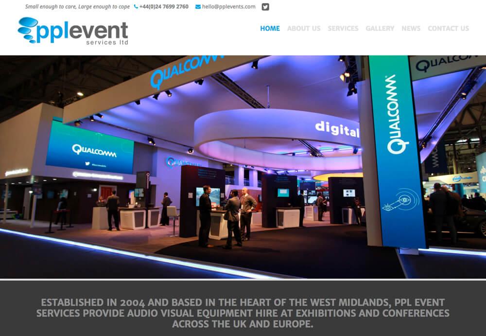 PPL Event Services Ltd Website